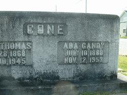 Ada <I>Gandy</I> Cone