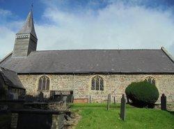 Llanwnog,  St Gwynog's Churchyard