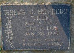 "Thilda G. ""Tillie"" Hovdebo"
