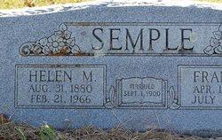 Helen Mae <I>Hibbard</I> Semple