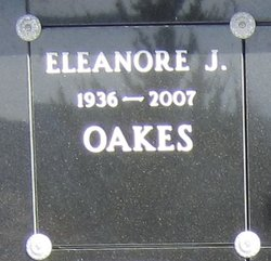 Eleanore Jane Oakes