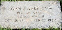 John Frederick Ahlstrom