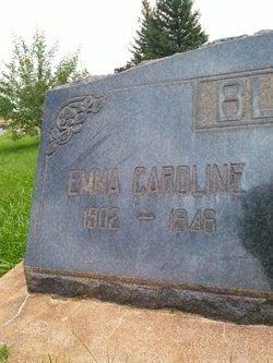 """Emma Caroline """"Carlie"""" <I>Duckett</I> Black"""