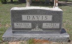 "Margaret Alice Pernolia ""Nolia"" <I>Wardlaw</I> Davis"