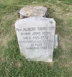 Rev Albert Thurston
