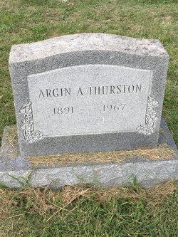 Argin A. Thurston