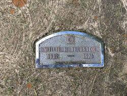 Willie H. Thurston