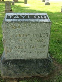 Addie <I>Mitchell</I> Taylor