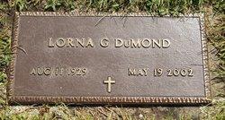Lorna G <I>Gladstone</I> DuMond