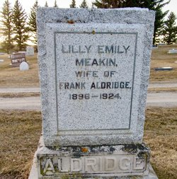 Lilly Emily <I>Meakin</I> Aldridge