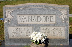 Joseph D Vanadore