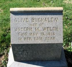 Olive <I>Buckalew</I> Welsh