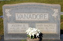 Mary J <I>Bagwell</I> Vanadore