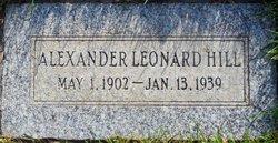 Alexander Leonard Hill
