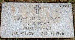 Edward W Berry
