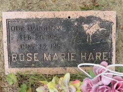 """Rose Marie """"Rosie"""" Hare"""