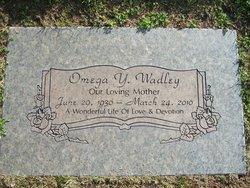 Omega Yvonne <I>Dabney</I> Wadley