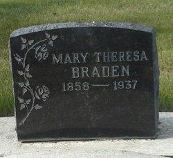 Mary Theresa <I>Dinwoody</I> Braden