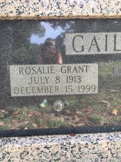 Rosalie Carr <I>Grant</I> Gaillard
