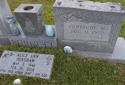 Annie Gertrude <I>Mozingo</I> Burnett