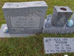 Allie A. Burnett