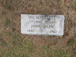 Ida <I>Follette</I> Allen