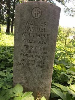 Walter Samuel Whitmire