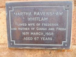 Martha Ravenshaw <I>Maddocks</I> Whitlam