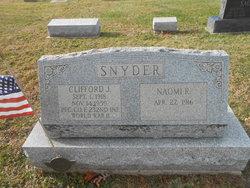 PFC Clifford J Snyder