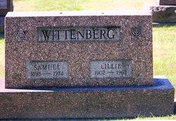 "Lily ""Lillie"" <I>Joseph</I> Wittenberg"