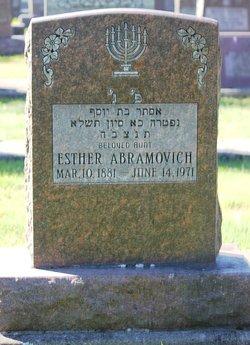 Esther Abramovich