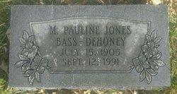 M. Pauline <I>Jones</I> DeHoney