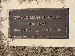 "Gerald Leon ""Jerry"" Housman"