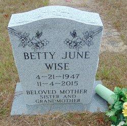 Betty June Wise
