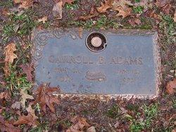 Carroll Blaine Adams