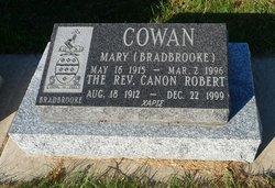 Mary <I>Bradbrooke</I> Cowan