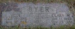"""Benhard """"Ben"""" Byer"""