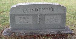 "Josephine Louella ""Josie"" <I>Daniel</I> Poindexter"
