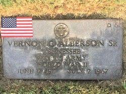 Vernon Gray Alberson, Sr