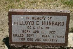 Sgt Lloyd E Hubbard