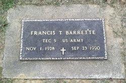 Francis Theodore Barrette