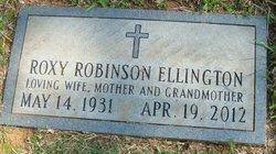 Roxy Ann <I>Robinson</I> Ellington