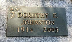 Dorothy A <I>Emery</I> Johnston