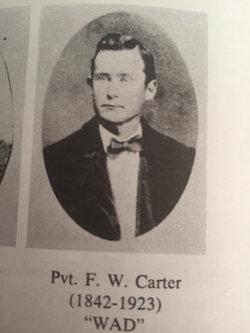 "Pvt Francis Watkins ""Frank"" Carter"