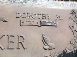 Dorothy M Walker