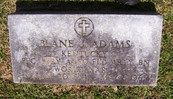 Blane Junior Adams
