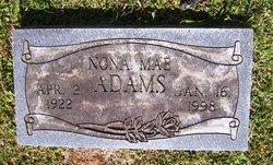 Nona Mae Adams