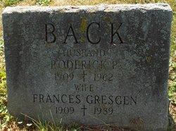 Frances <I>Gresgen</I> Back