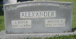 Maggie Virginia <I>Wisdom</I> Alexander