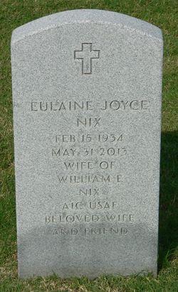 Eulaine Joyce <I>Hutchins</I> Nix